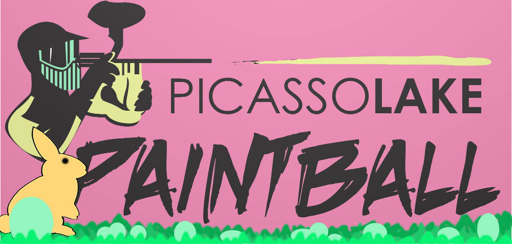 Picasso Lake Paintball logo